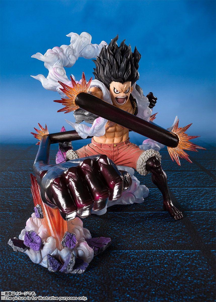 Figuarts Zero Monkey D Luffy Gear Fourth Snakeman King Cobra Luffy Gear Fourth Luffy Gear 4 Anime