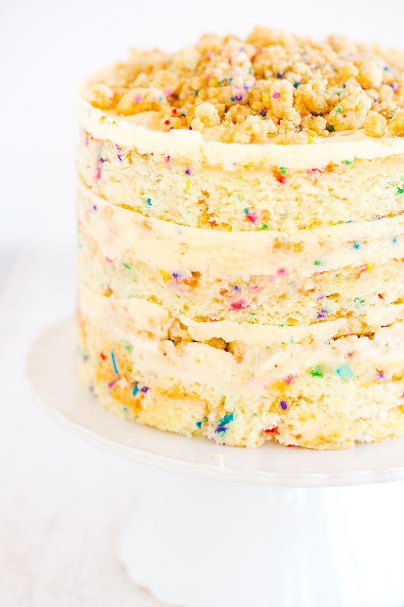 The Famous Momofuku Milk Bar Birthday Layer Cake