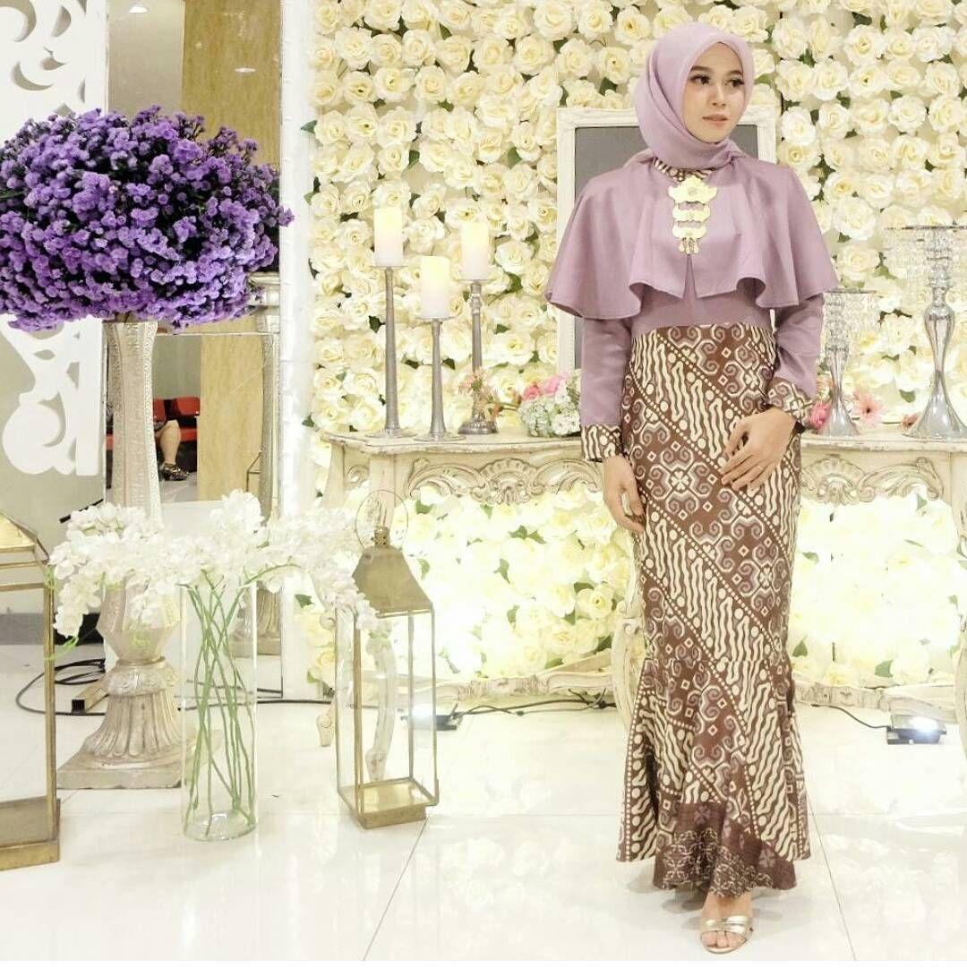 baju couple muslim brokat kombinasi embos 9 model batik modern
