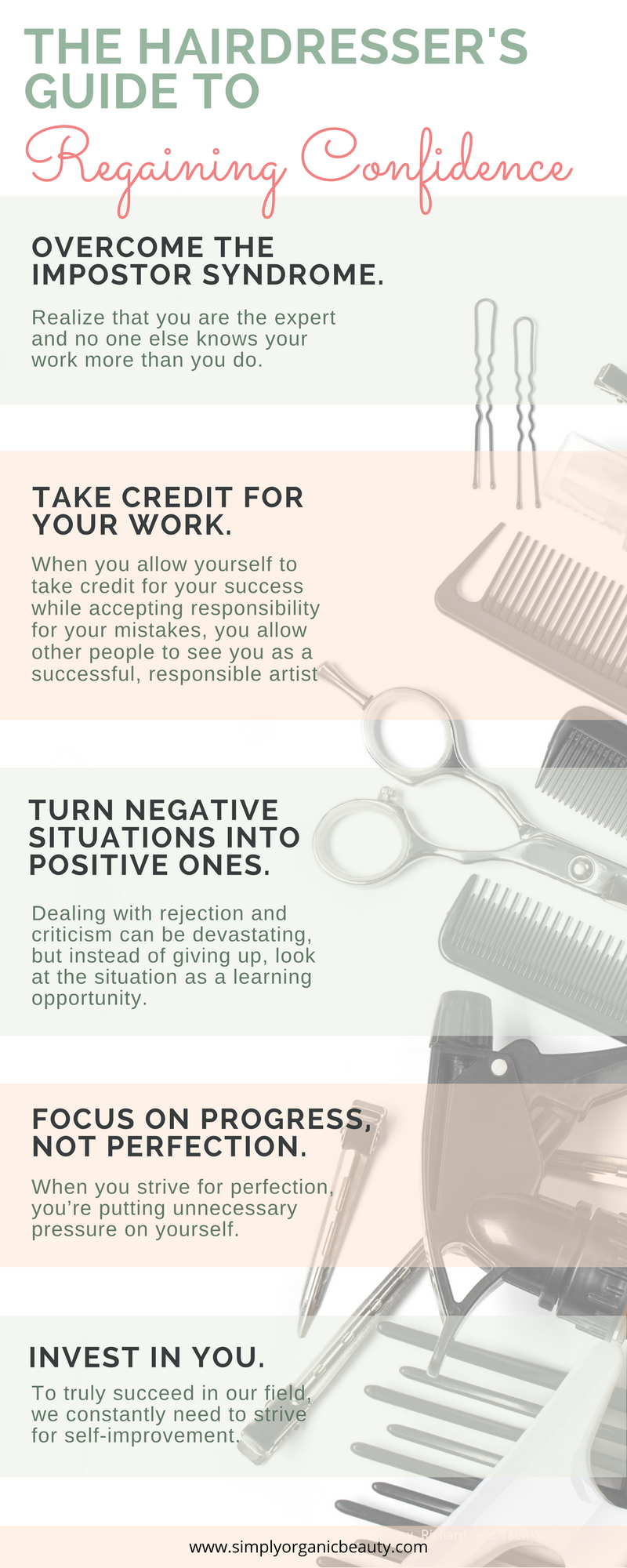 Hairstylist Resume The Hair Stylist's Guide To Regaining Confidence  Confidence