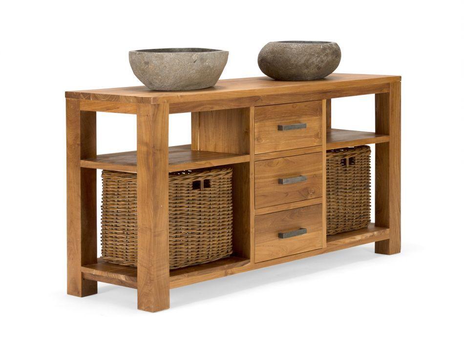 Badmöbel Waschtisch Waschbeckenunterschrank Massiv Holz Möbel Neu Masja Kaufen Bei Hood De