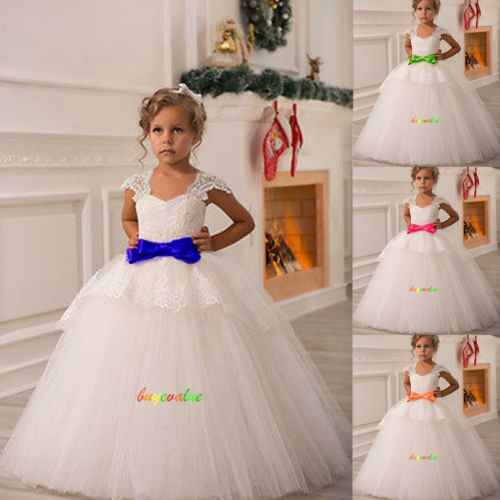 Robe mariage fille ivoire