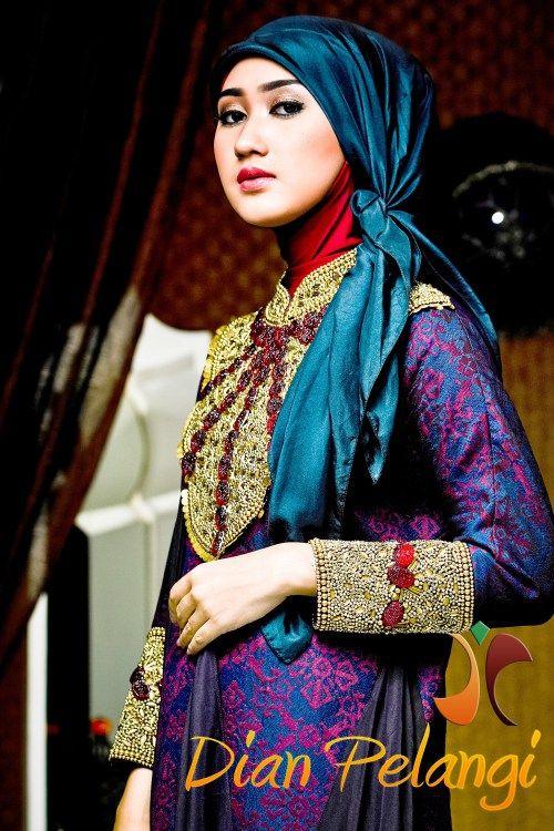 Model Baju Batik Dian Pelangi Nia Hijab Fashion Abaya Fashion