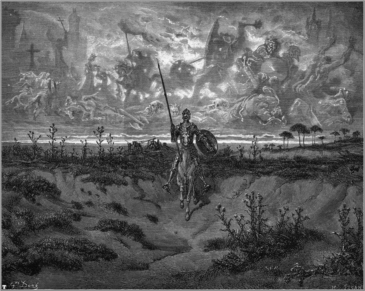 Don Quixote - Gustave Dore - WikiArt.