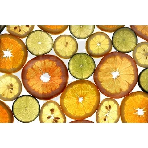 Citrus Slices Wall Decal