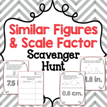 how to find the scale factor of two similar figures