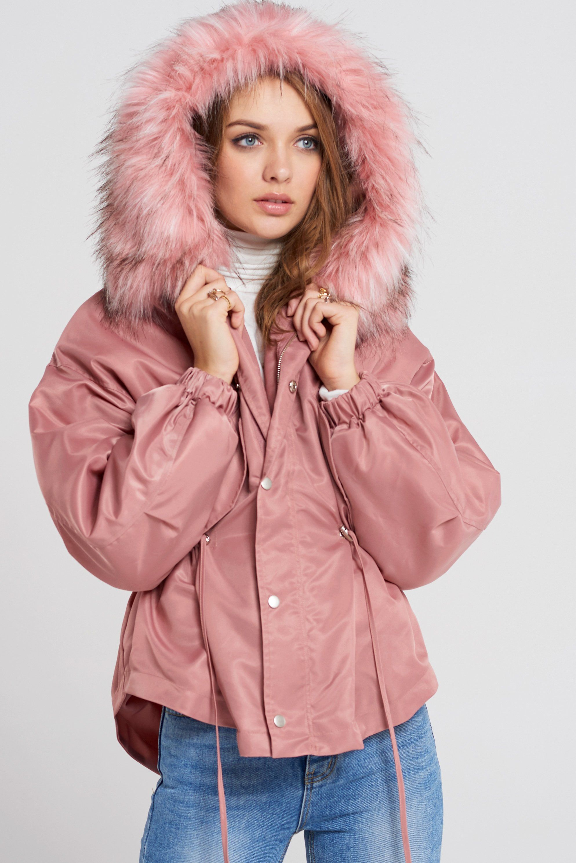 2bce639f517 Pinky Pink Padded Jacket | Womens Coats | Padded jacket, Jackets ...
