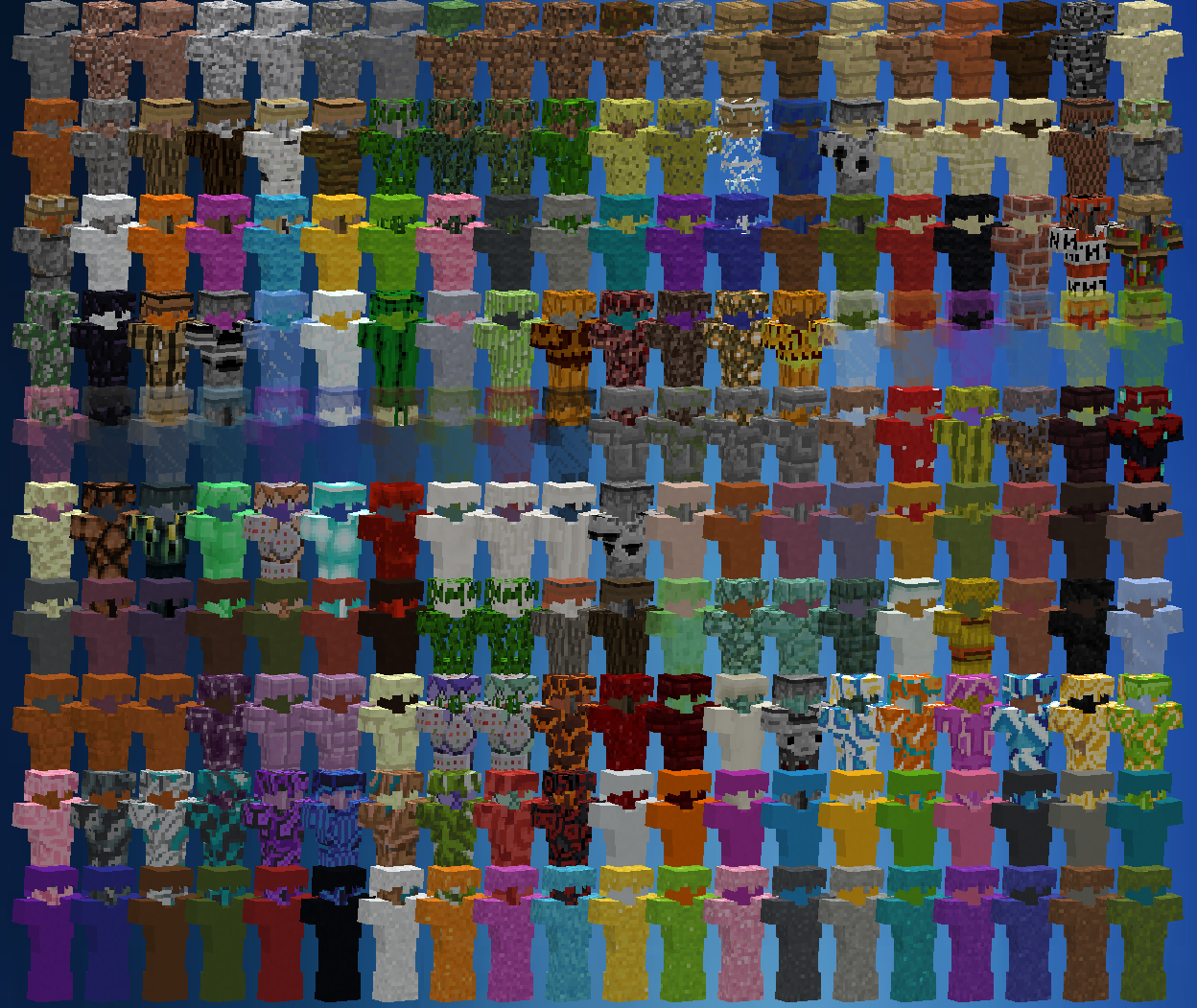 Block Armor Mods Minecraft Curseforge Minecraft Blocks Armor Blocks