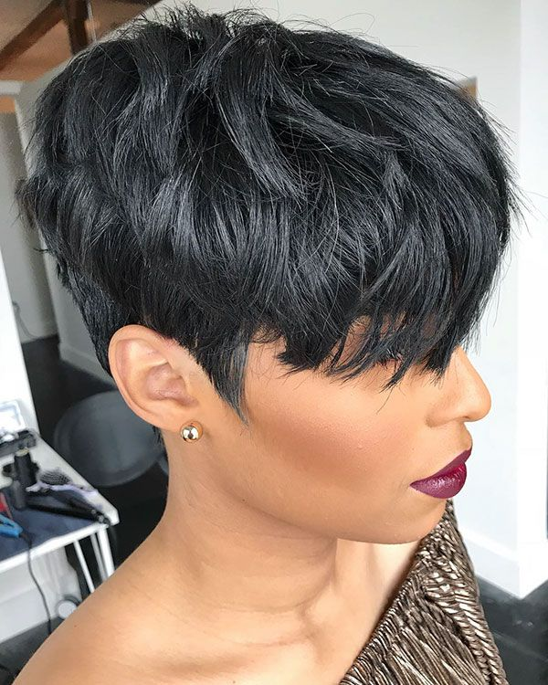 50 Best Short Haircuts for Black Women 2019 #shortstyles
