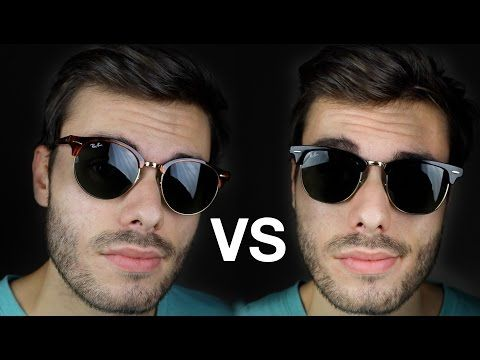 0eeddcdd40a6 Ray Ban Clubmaster vs Clubround – Sunglasses Offers | Sunglasses ...