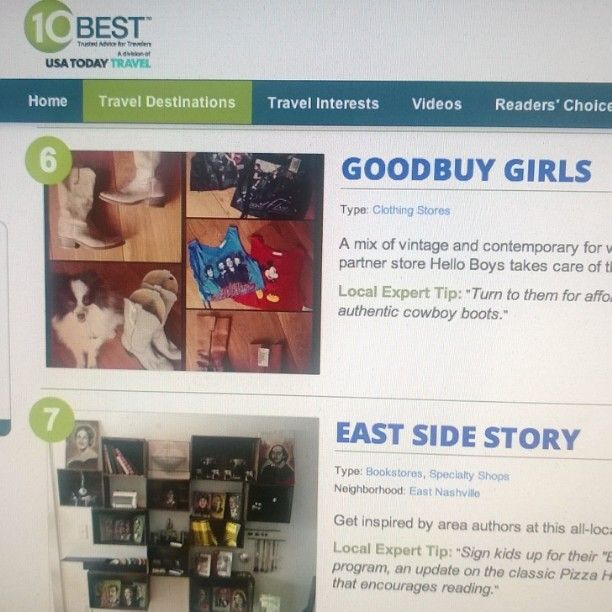 Goodbuy Girls in USA Today