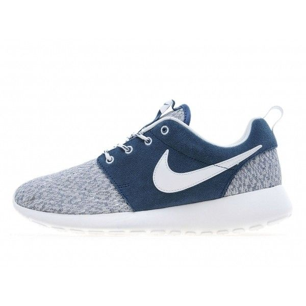timeless design cbb3e 710a4 Nike Womens Roshe Run Navy White JD Sports Exclusive ❤ liked on Polyvore  featuring shoes, athletic shoes, navy shoes, sport footwear, sport shoes,  ...