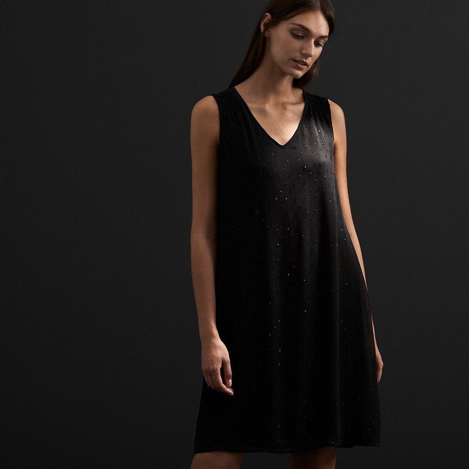 festliches kleid mit glitzer-effekt. | modestil, kleider