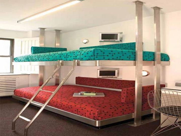 Best 17 Cool And Stylish Bunk Beds Bunk Beds Contemporary 640 x 480