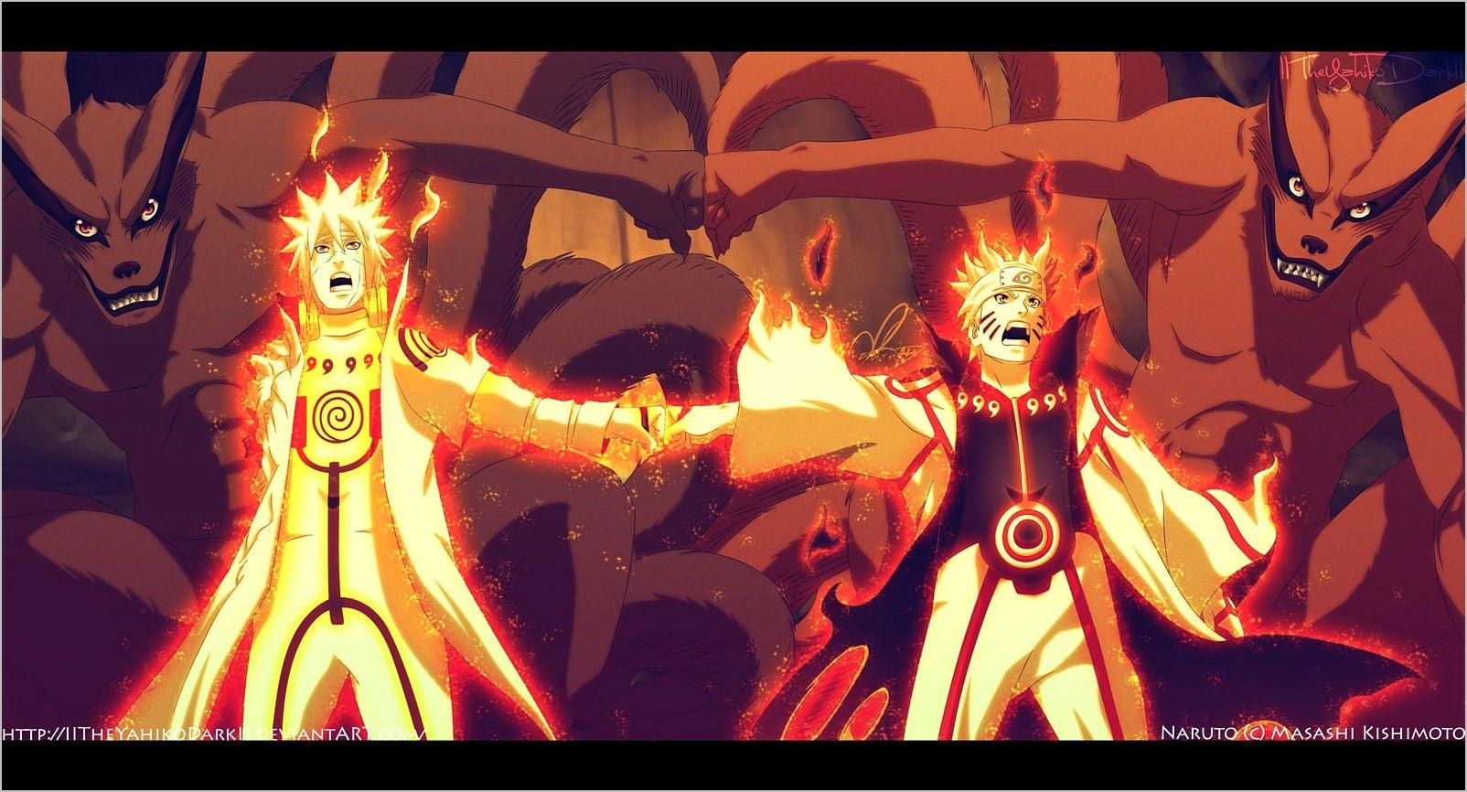 Naruto Minato Wallpaper 4k Arte De Naruto Fondo De Pantalla De Anime Minato Y Naruto