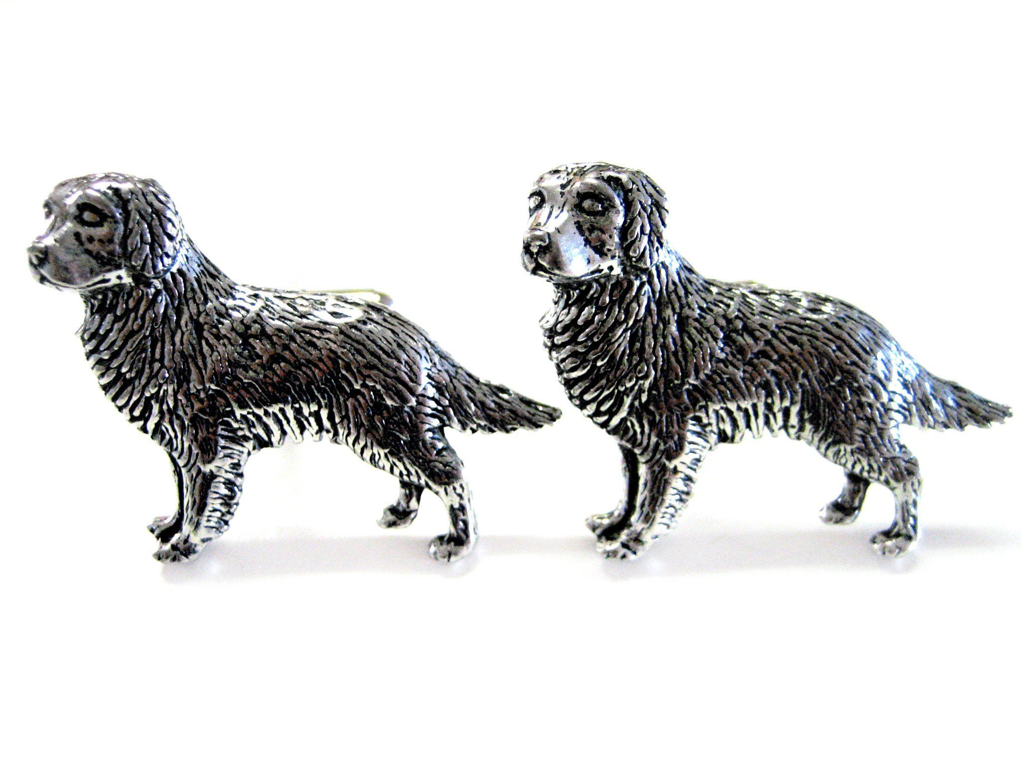 Golden Retriever Dog Cufflinks Dogs golden retriever