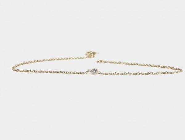 Round Diamond Bracelet by Lumo