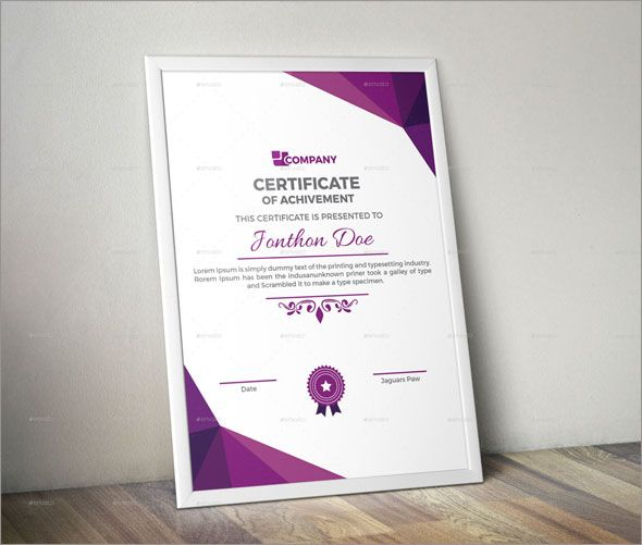 100 Amazing Photo Realistic Certificate Templates Best