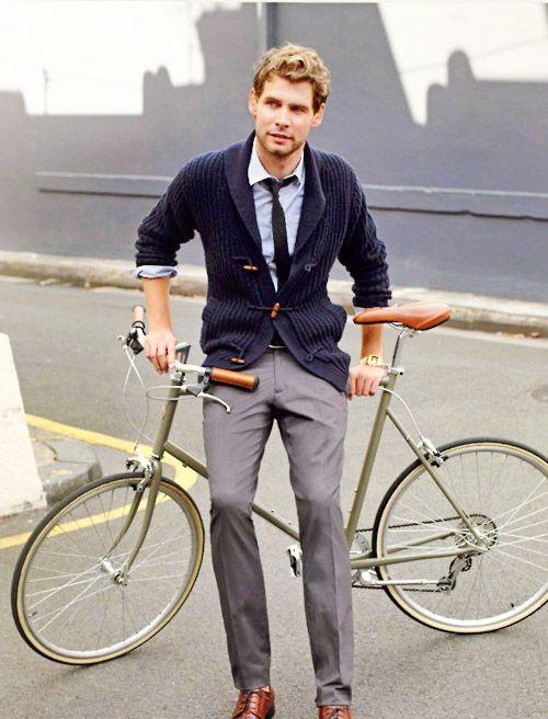 Bike and cardi