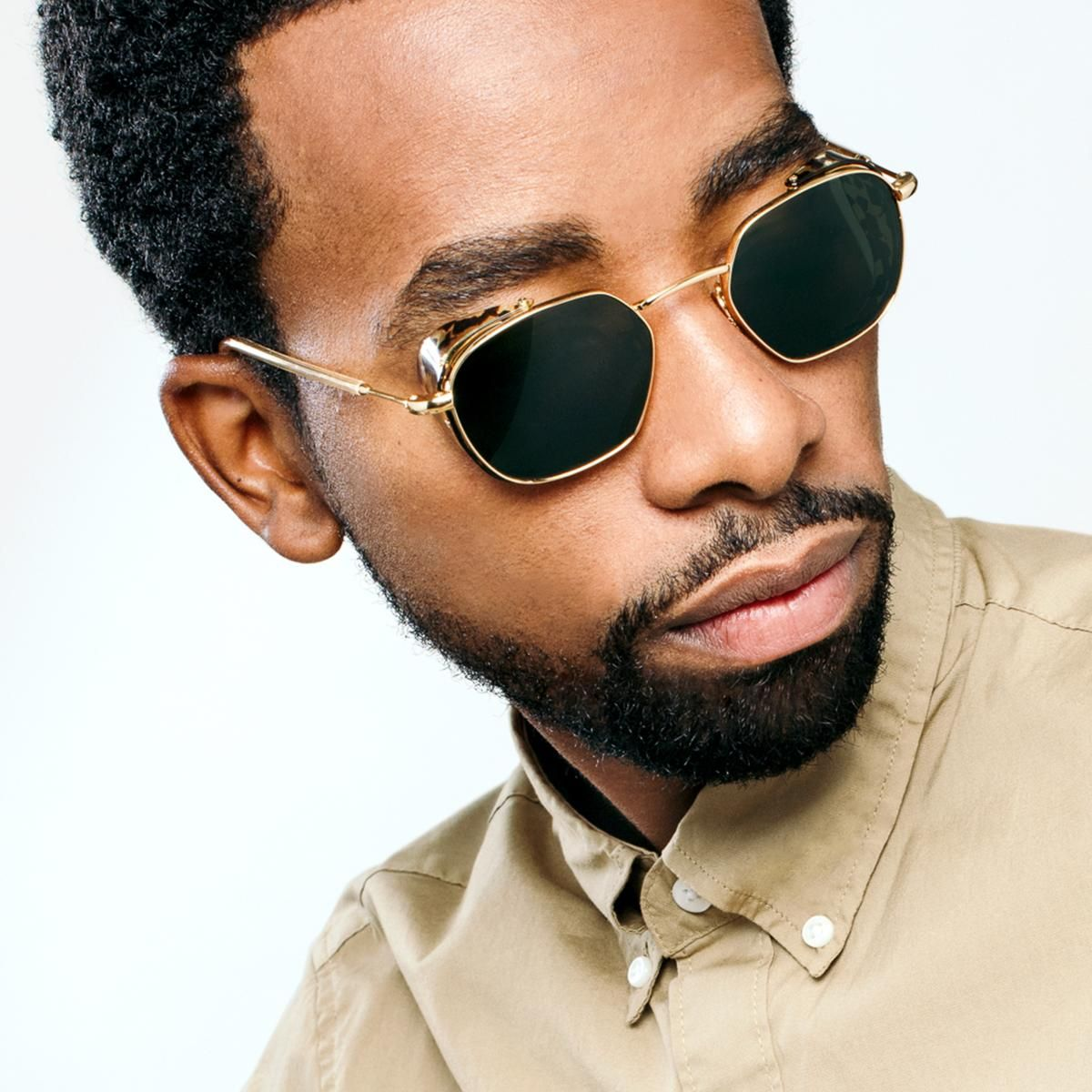 WARD BLINKER 24K Titanium + Zulu Best mens sunglasses