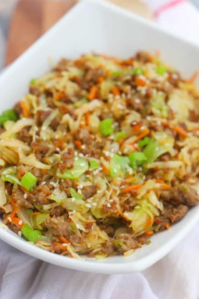 Egg Roll in a Bowl • The Diary of a Real Housewife