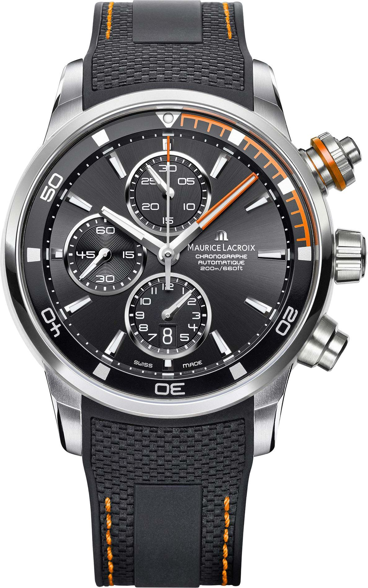 Maurice Lacroix Pontos S Pt6008 Ss001 332 1 Luxury Watches For Men Watches For Men Swiss Automatic Watches
