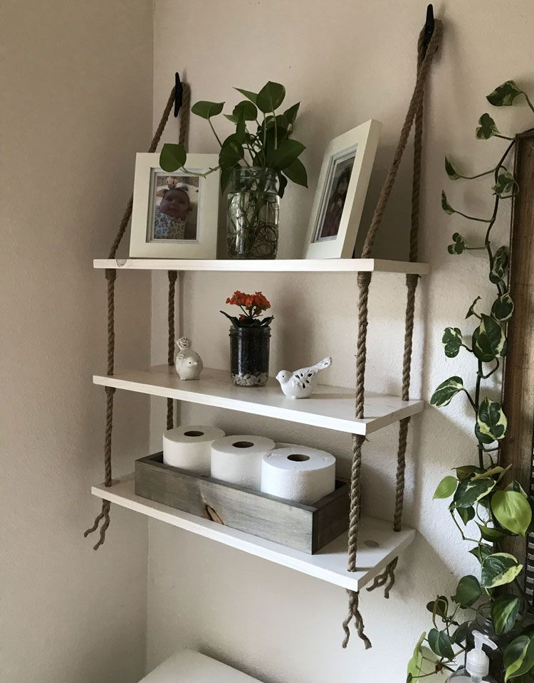 Home Ideas Review In 2020 Small Bathroom Shelves Diy Bathroom Small Bathroom Storage