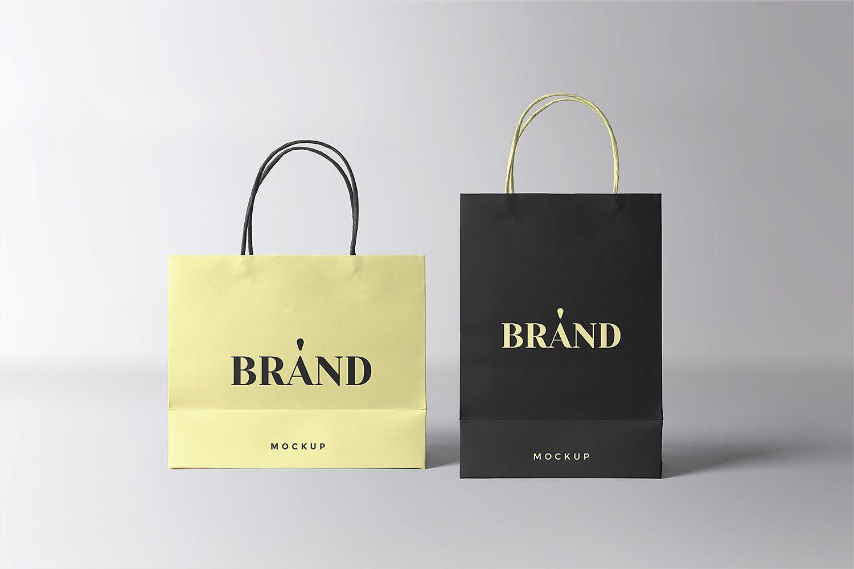 Download Paper Shopping Bags Mockup Bag Mockup Paper Shopping Bag Shoping Bag