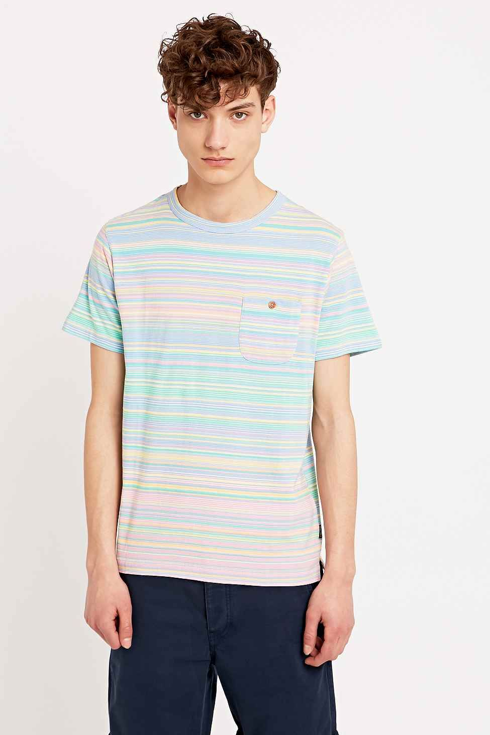 Latest styles · Shore Leave by Urban Outfitters Simpson Stripe Tee in Pink