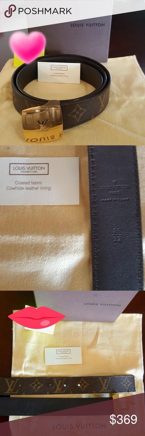 Flash Sale! ! ! Authentic Louis Vuitton Belt | Louis ...