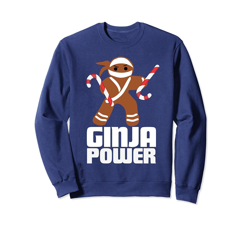 Funny Ginja Power Cute Christmas Cookie Gingerbread Man