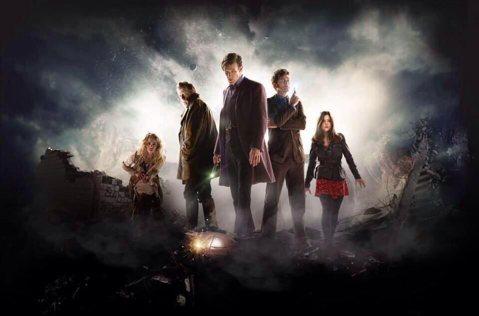 Twitter / billieonline: New Day Of The Doctor promotional photo