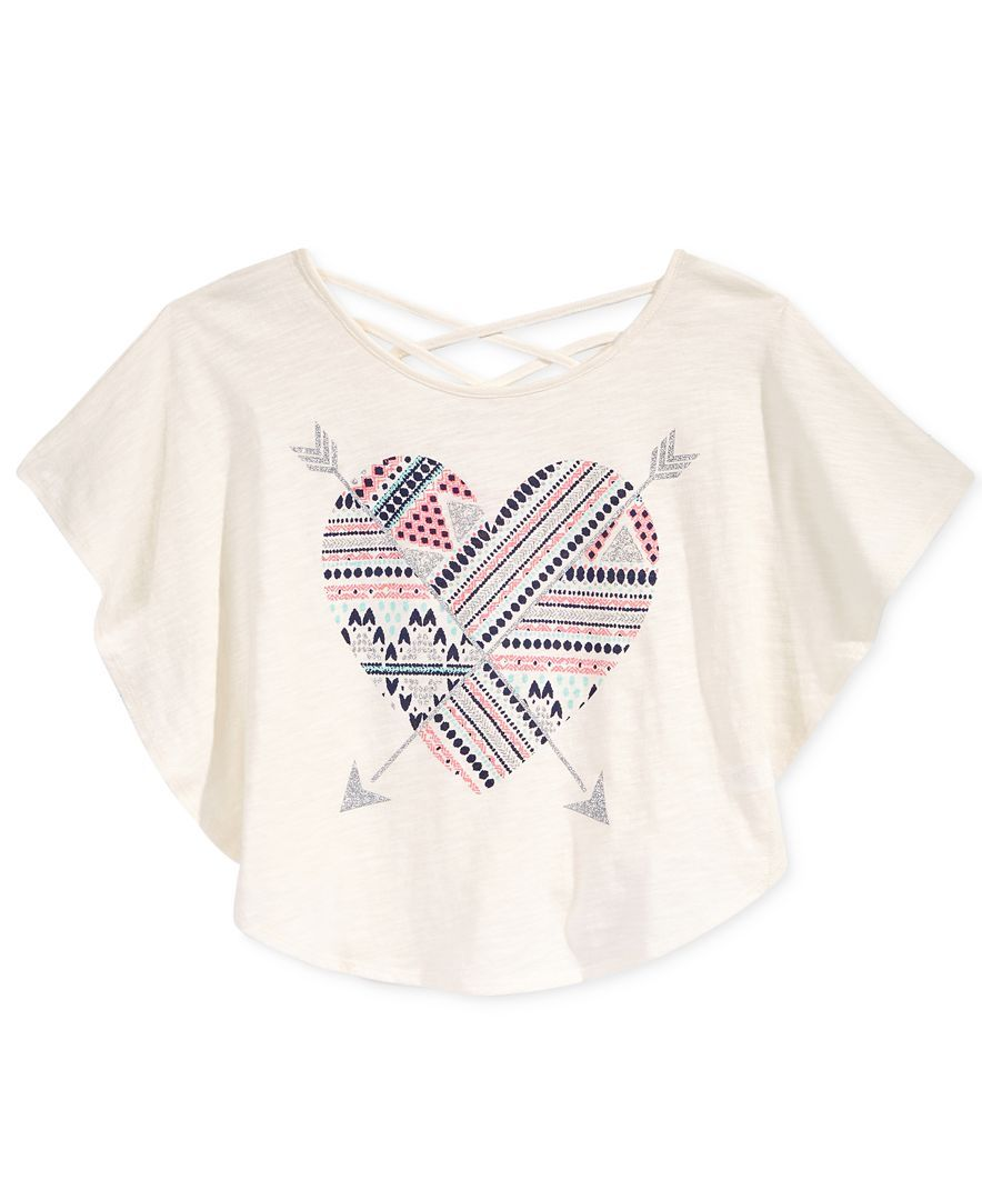 Epic Threads Graphic-Print Circle T-Shirt, Big Girls (7-16), Only at Macy's