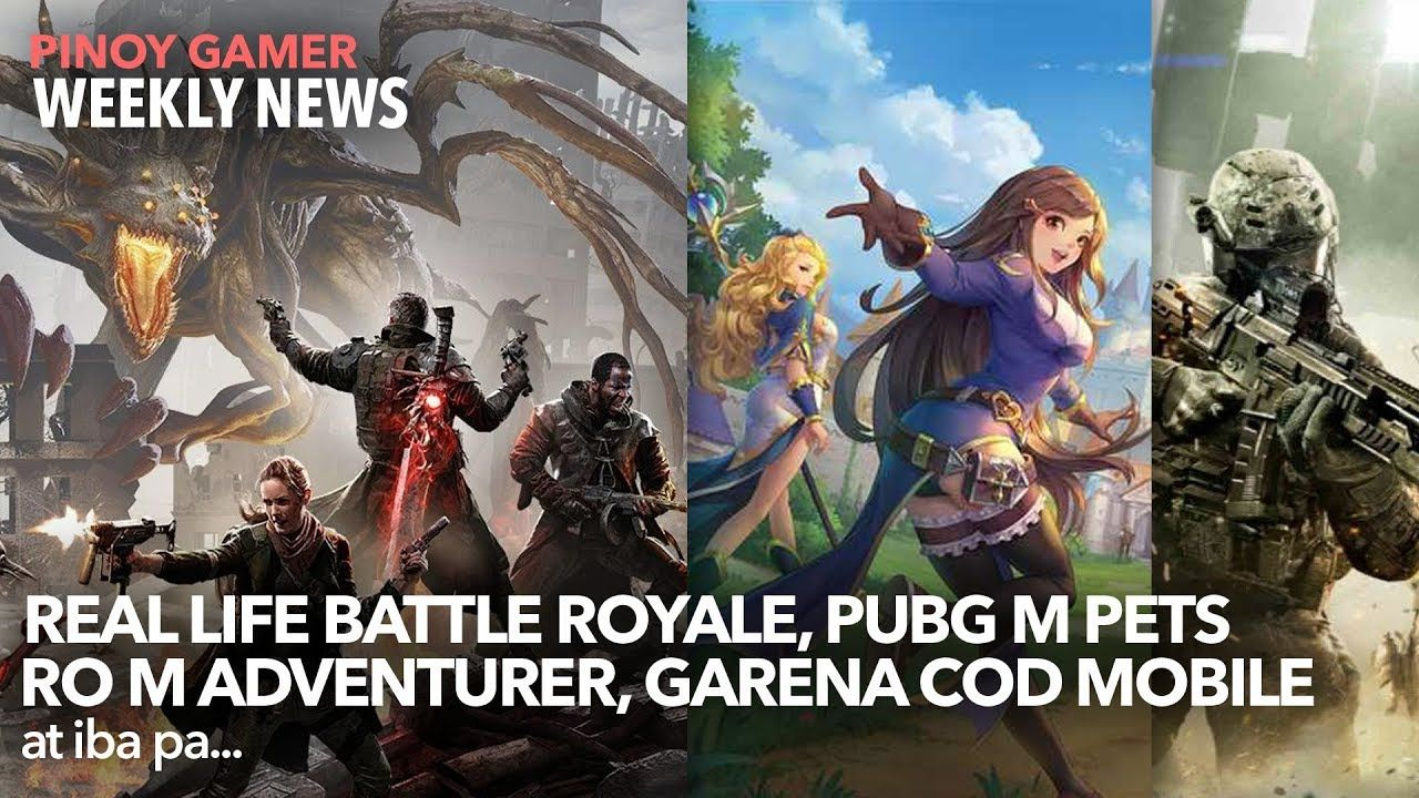 Weekly Gaming Update by Pinoy Gamer! Lets talk about the