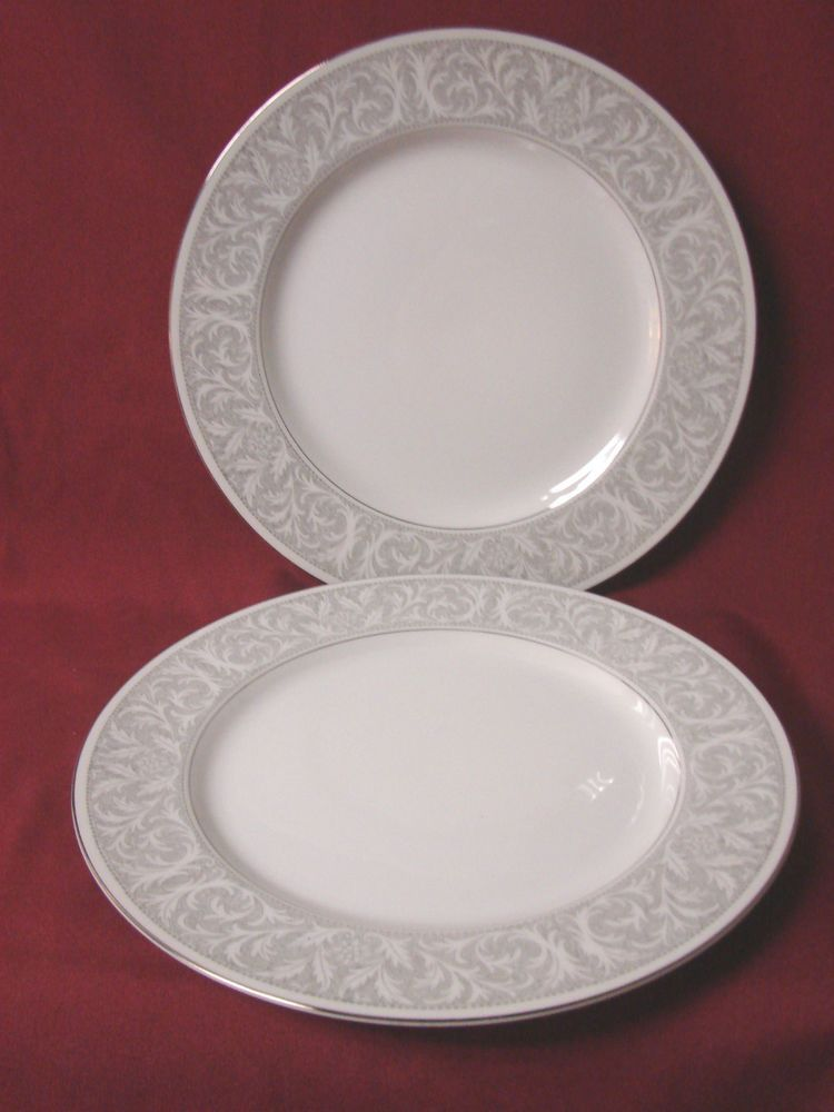 Mikasa China Dinnerware Winthrop Pattern # 5401 Set 2 Dinner plate #Mikasa # Mikasa & Mikasa China Dinnerware Winthrop Pattern # 5401 Set 2 Dinner plate ...