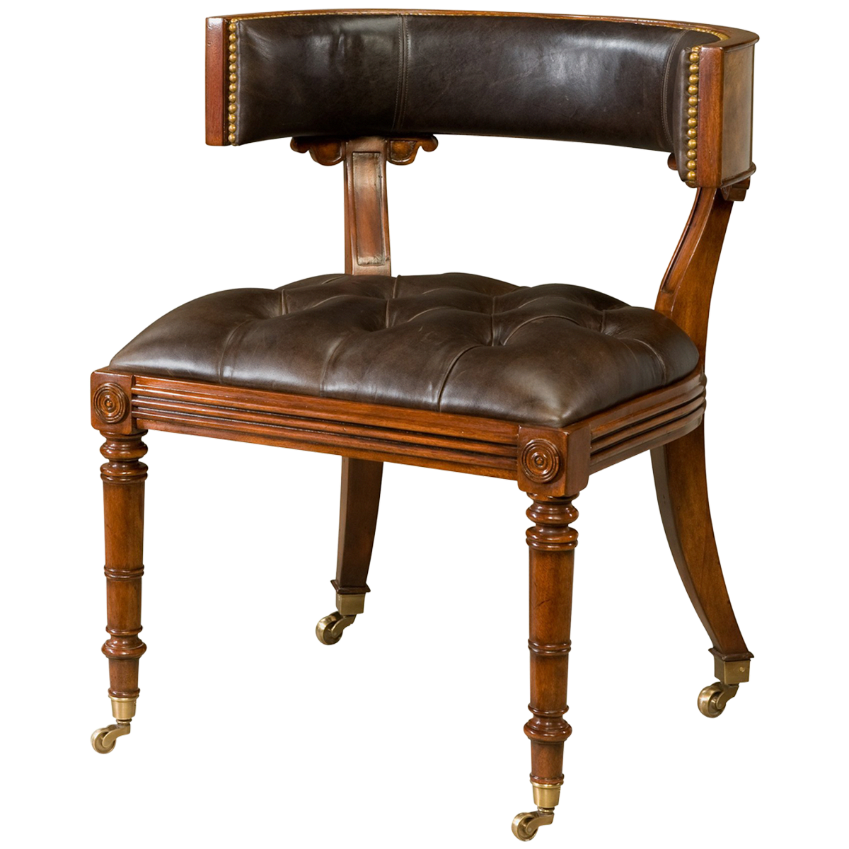 georgian style library chair librarychair counter height chairs rh pinterest com