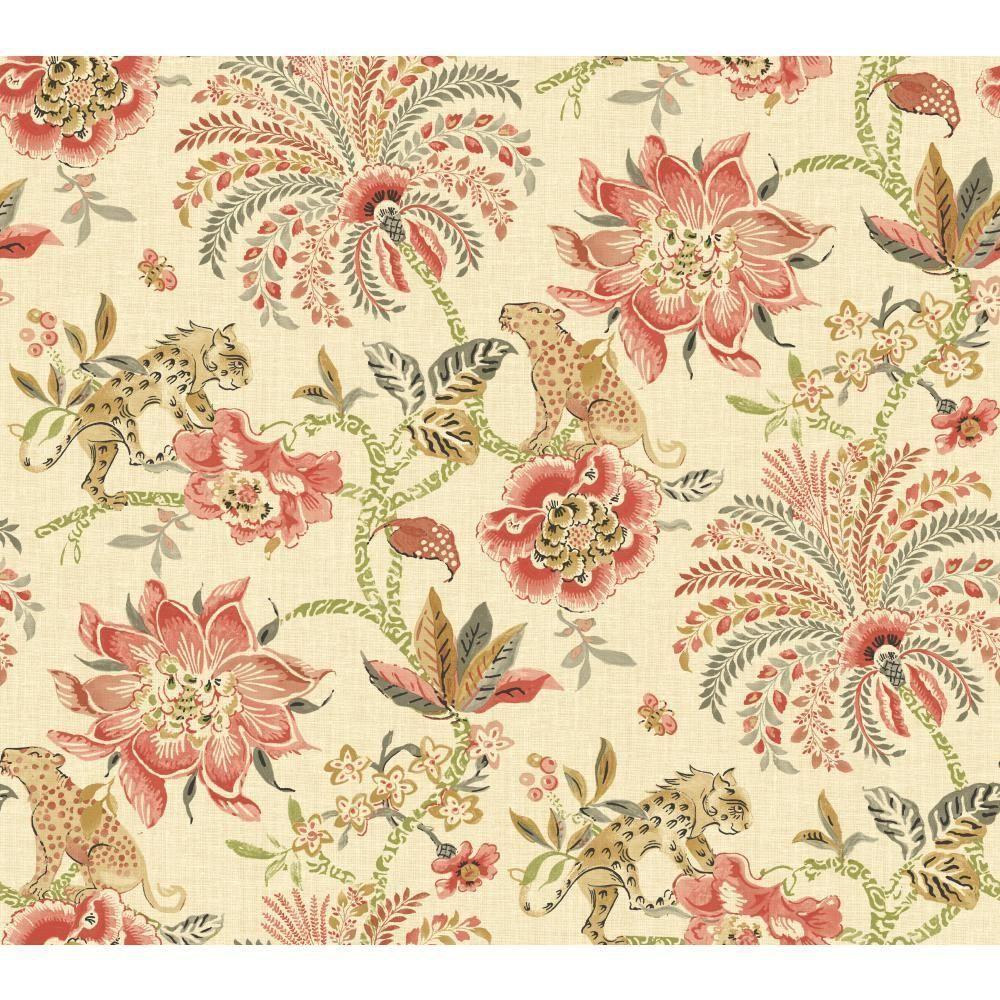 Floral wallpaper, Textured wallpaper ...