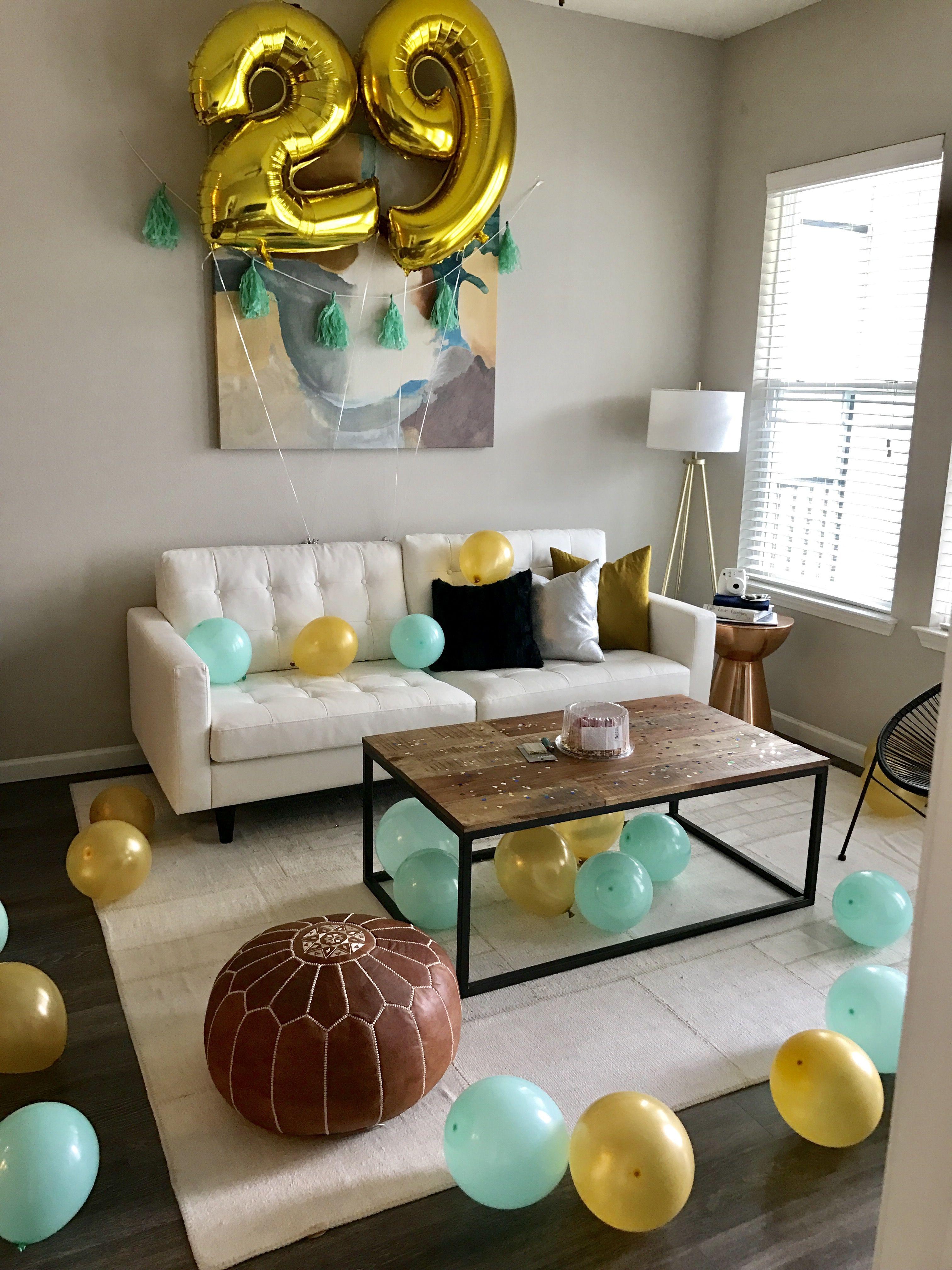 Birthday surprise for him surprise birthday decorations