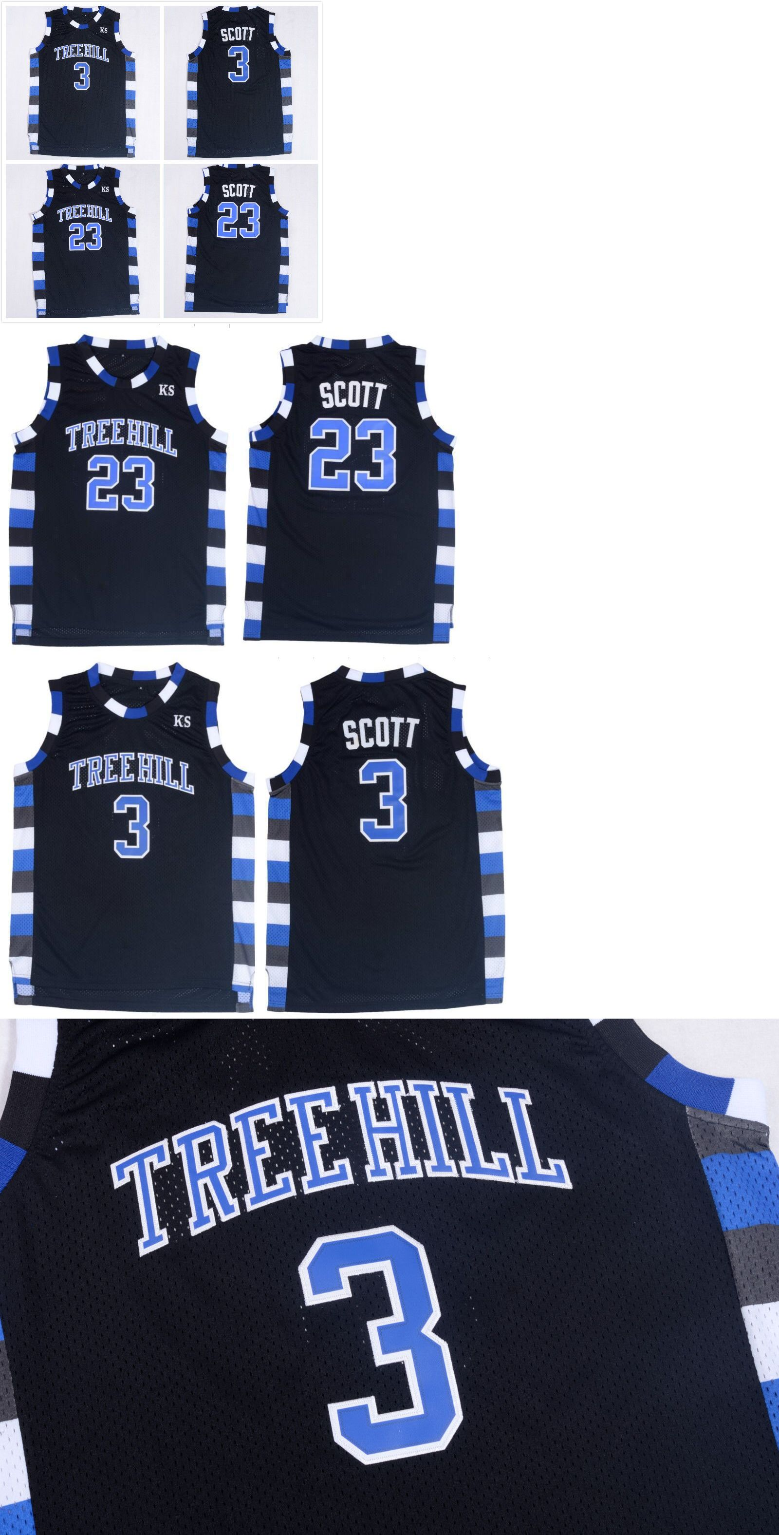 2844704f23e Clothing 158964: #23 Nathan Scoot #3 Lucas Scott One Tree Hill Black  Basketball Jersey -> BUY IT NOW ONLY: $19.99 on eBay!