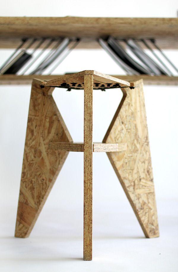 OSB-eautiful Desk | Yanko Design