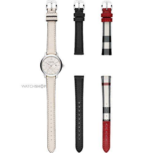 burberry fabric strap watch