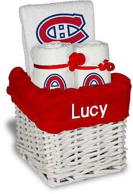 Habs Holiday Gift Basket - Designs by Chad   Jake Montreal Canadiens  Personalized Small Gift Basket - Shop.NHL.com 9accc3f5fada