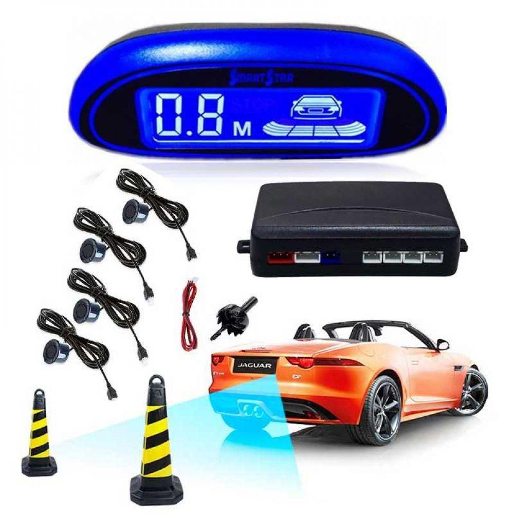 LED Parking Sensor Car Auto Parktronic With 4 Sensors Reverse Backup