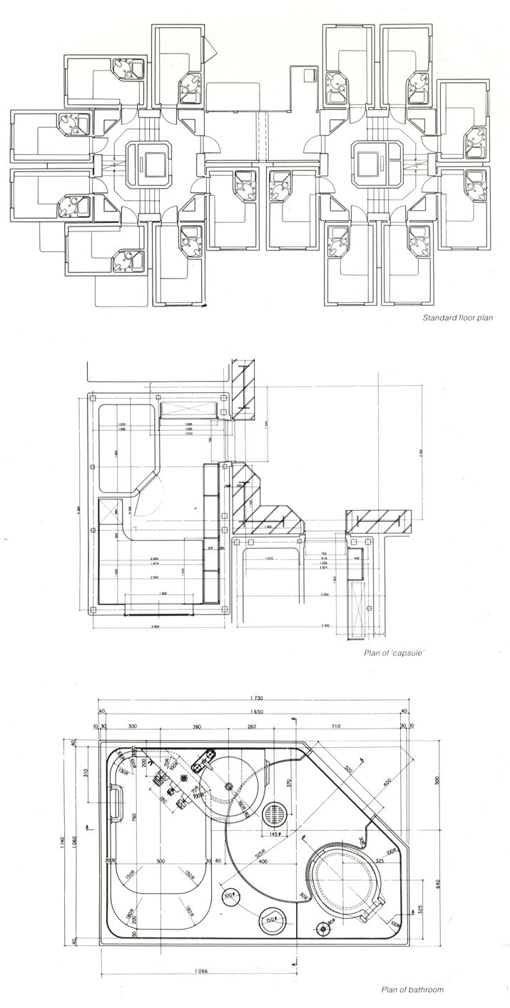 MORE ABOUT: Nakagin Capsule Tower