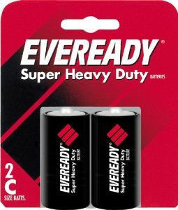 Eveready Heavy Duty 1235bp 2 C Batteries 2 Pack By Eveready 2 29 0 C 2 Pk Energizer Battery Household Batteries