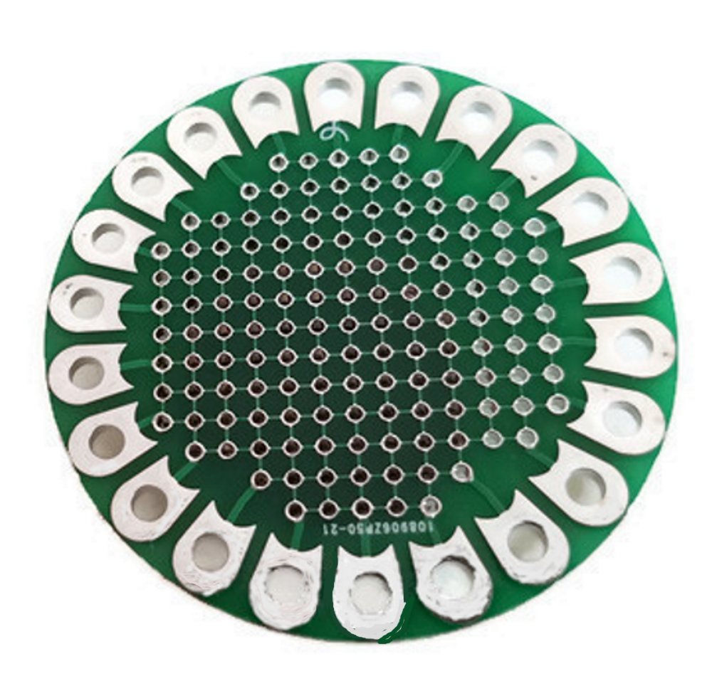 Lilypad Prototype Board Protoboard Round Prototype Board For All Diy Electronics Projects
