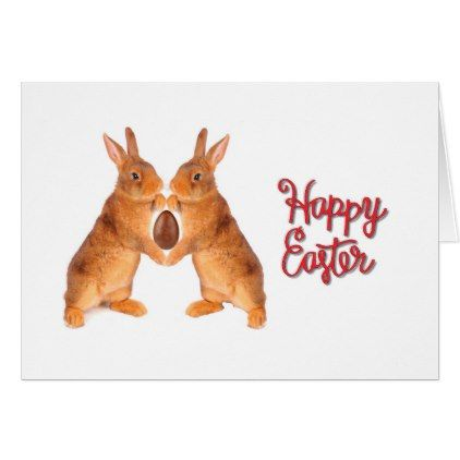 Rabbit Images For Easter Greeting Card  Holiday Card Diy