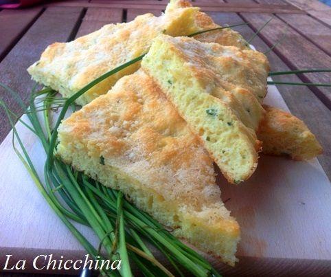 La Chicchina: Focaccia con senape e parmigiano