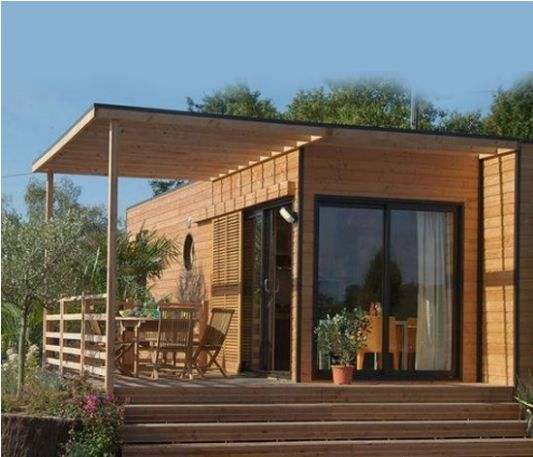 maison bois modulable maison en bois en 2018 pinterest maison bois maison modulaire et maison. Black Bedroom Furniture Sets. Home Design Ideas
