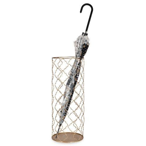 Porte-parapluie en métal doré ALYSSA | Entrway | Pinterest